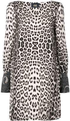 Class Roberto Cavalli leopard-print dress
