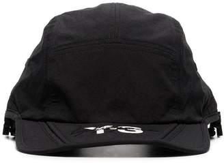 Y-3 black logo foldable cap