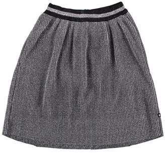 Molo Birdie Metallic Pleated Skirt, Size 3T-14