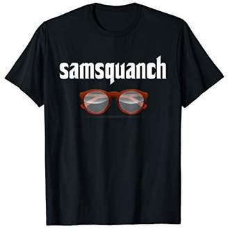 Samsquanch Funny Looking Glasses Bigfoot T-Shirt