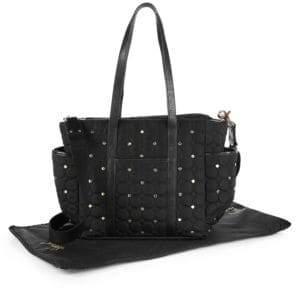 Rebecca Minkoff Marissa Quilted & Studded Diaper Bag