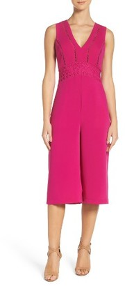 Women's Adelyn Ray Crop Jumpsuit $98 thestylecure.com