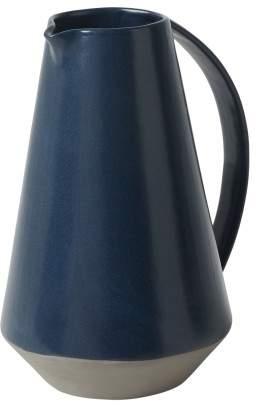 Olav Handled Jug, Dark Blue