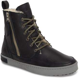 Blackstone 'CW96' Genuine Shearling Lined Sneaker Boot
