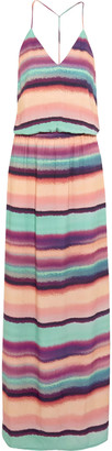 Vix Taysa striped woven maxi dress $196 thestylecure.com