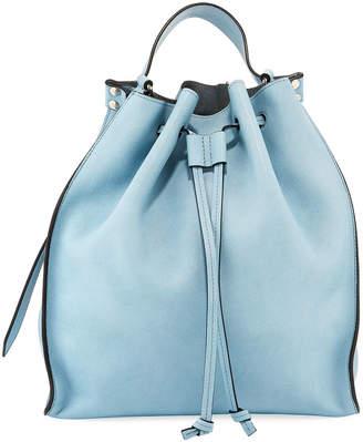 J.W.Anderson Leather Drawstring Hobo Bag