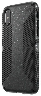 Speck iPhone Xs/X Presidio Grip + Glitter Case
