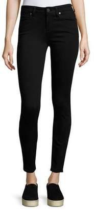 Paige Verdugo Ankle Skinny Jeans, Black Shadow