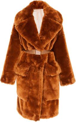 N°21 N 21 Cora Faux Fur Coat