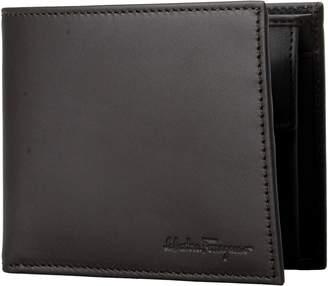 Salvatore Ferragamo 100% Leather Men's Bifold Wallet