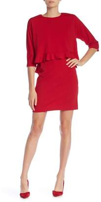 Taylor Front Popover Solid Dress