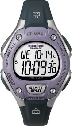 Timex Women's Ironman Classic 30 Mid-Size Watch, Black Resin Strap