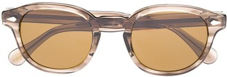 MOSCOT clear frame sunglasses