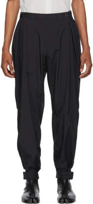Issey Miyake Black Wind Trousers