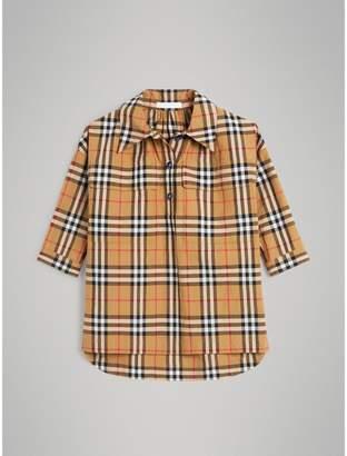 Burberry Childrens Vintage Check Shirt Dress