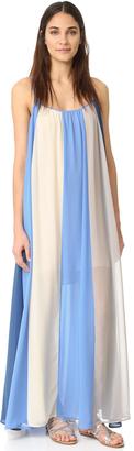 Line & Dot El Ray Color Block Maxi Dress $112 thestylecure.com