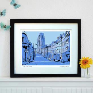 Firewater Gallery Park Street, Bristol Art Print