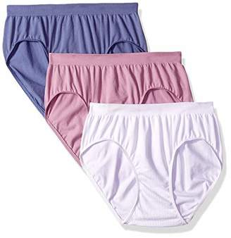 Bali Women's Comfort Revolution Hipster Panty 3-Pack