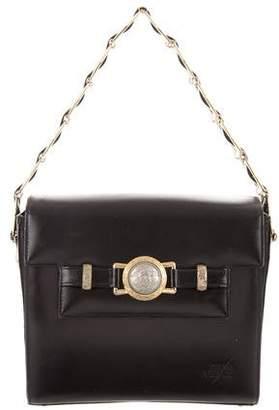 Gianni Versace Medusa-Embellished Flap Bag