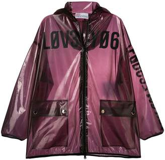 RED Valentino clear hooded jacket