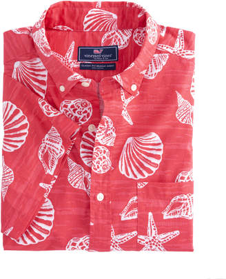 Vineyard Vines Short-Sleeve Dunes Road Classic Murray Shirt