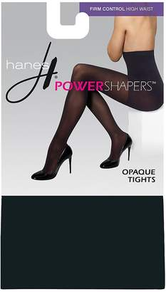 Hanes Women's Firm Control High Waist Power ShapersTM Opaque Tights__XL