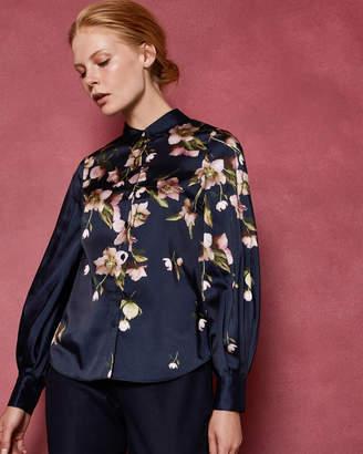 Ted Baker LANIIE Arboretum full sleeve blouse