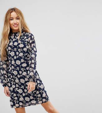 Yumi Petite High Neck Tunic Dress