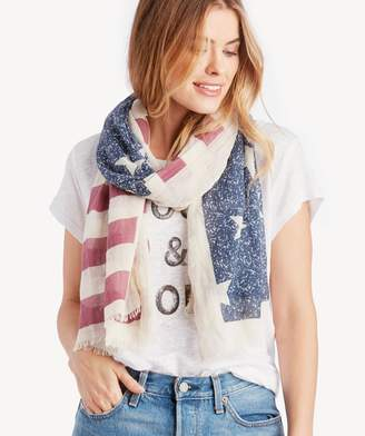 Sole Society Women's American Flag Scarf Multi From
