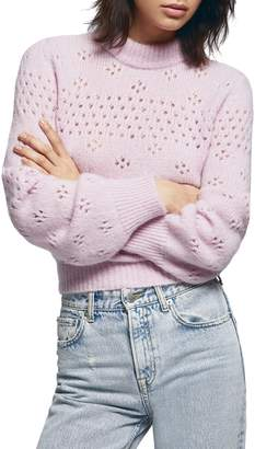 Anine Bing Candice Pointelle Sweater