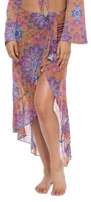 Luli Fama Ruffle Skirt Cover-Up
