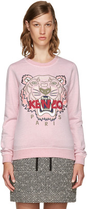 Kenzo Pink Limited Edition Tiger Sweatshirt $265 thestylecure.com