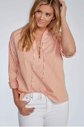 Elliott Lauren Orange Crush Stripe