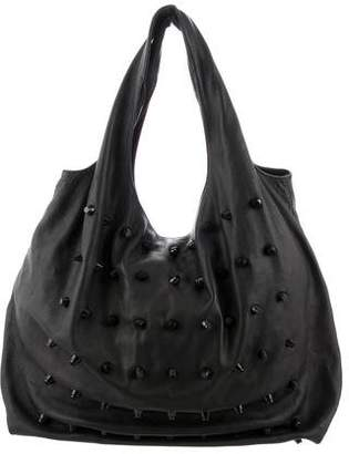 Alexander Wang Embellished Leather Hobo