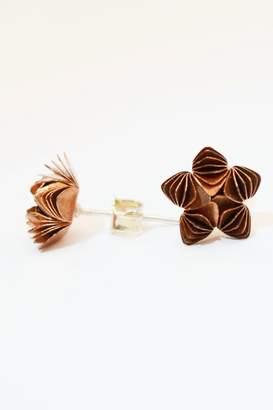 Lutz Carolina Copper Flower Stud