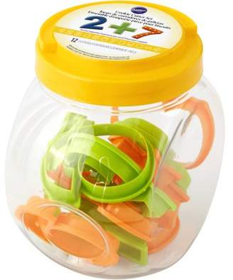 Wilton Numbers Cookie Cutter Set