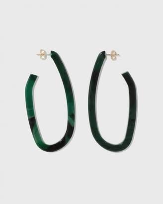 Rachel Comey Malachite Maya Earrings