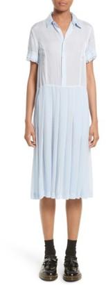 Women's Tricot Comme Des Garcons Shirtdress $895 thestylecure.com