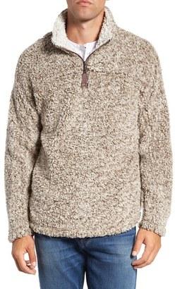 Men's True Grit High Pile Quarter Zip Pullover $145 thestylecure.com