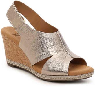 Clarks Helio Float Wedge Sandal - Women's