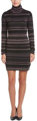 Rachel Zoe Bonnie Open Back Wool-Blend Sweater Dress