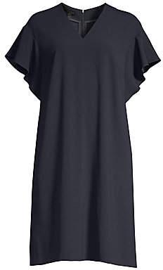 Escada Women's Dhellia Flutter Sleeve Shift Dress