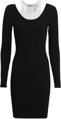 Alexander Wang Bi-Layer Mini Dress