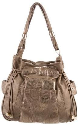 See by Chloe Embossed Leather Handle Bag