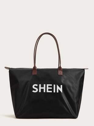 Shein 11th Anniversary Waterproof Tote Bag