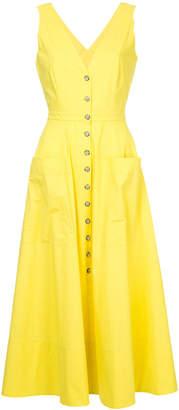 Saloni v-neck dress
