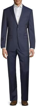 Michael Kors Slim-Fit Notch Wool Suit