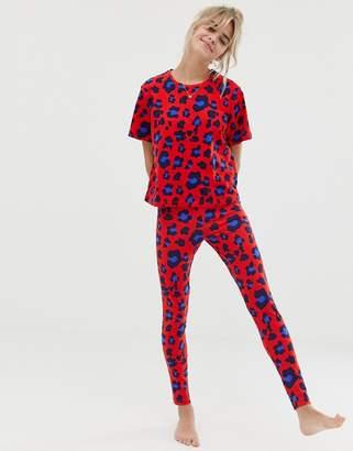 Asos Design DESIGN animal pyjama legging set 8acac19ff