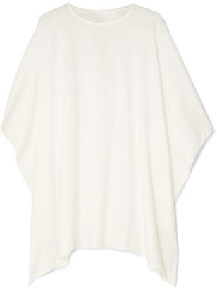 Rick Owens Minerva Oversized Cotton-jersey T-shirt - White