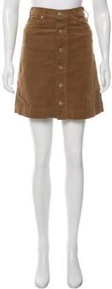 McGuire Denim Corduroy Knee-Length Skirt w/ Tags